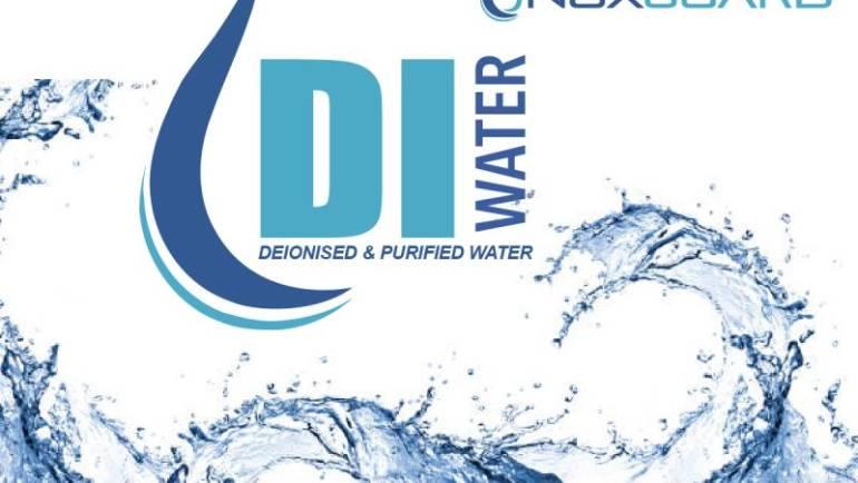 La pureza del agua desmineralizada al producir Urea Automotriz Noxguard
