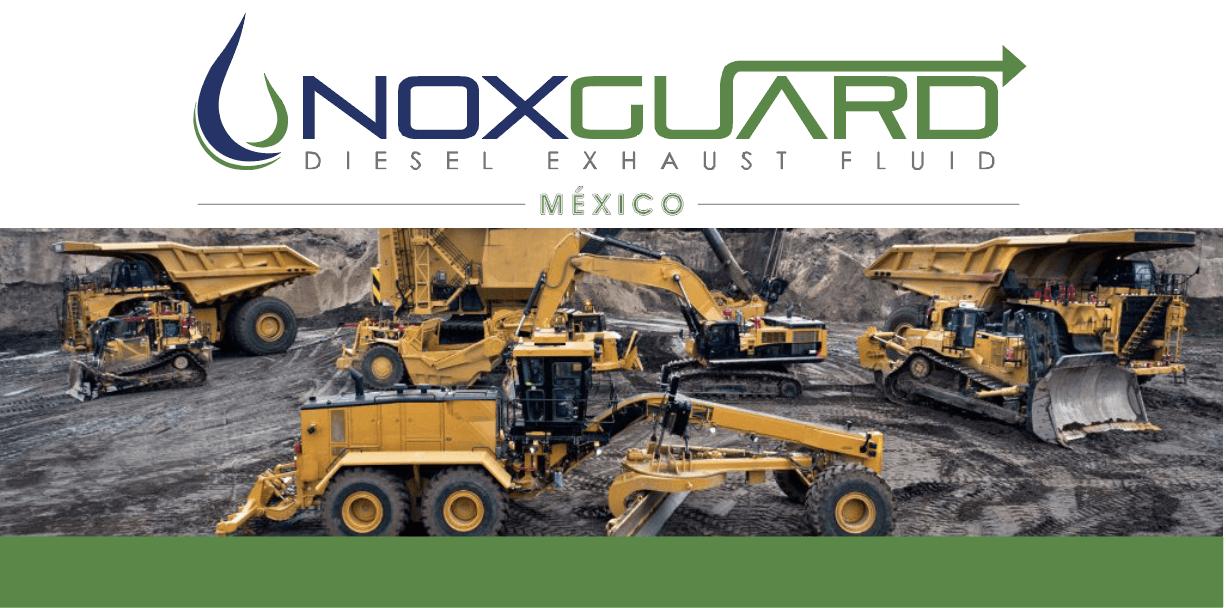 Urea Noxguard para maquinaria de construcción y agrícola!