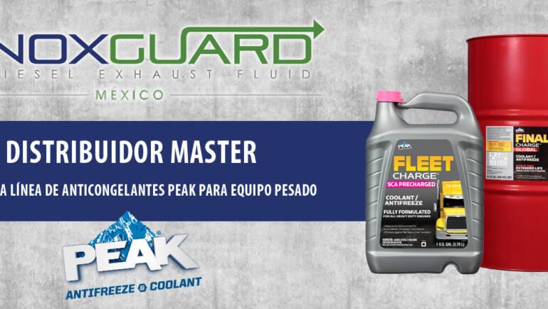 Noxguard México trae al país el mejor anticongelante: Peak